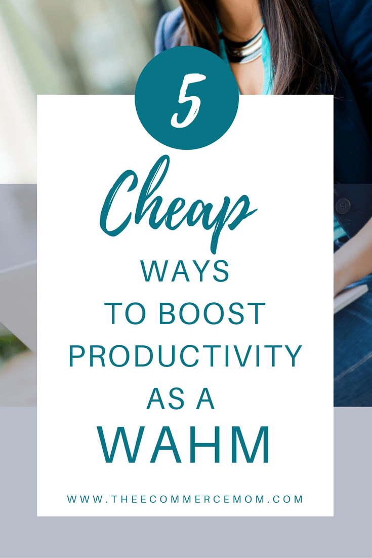 5 Cheap Productivity Tools For The WAHM